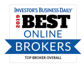 Investor's Business Daily 2019 Best Online Brokers Award
