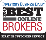Investor's Business Daily | 2015 Best Online Brokers | First in customer service