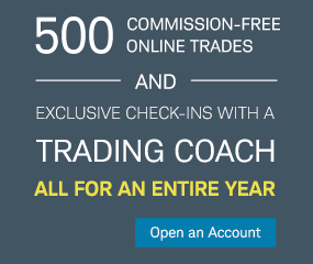 Get 500 commission-free trades for a year