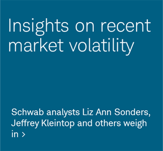 Insights on recent market volatility. Schwab analysts Liz Ann Sonders, Jeffrey Kleintop and others weigh in.