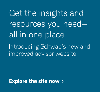 Get the insights and resources you need—all in one place. Introducing Schwab's new and improved advisor website. Explore the site now.
