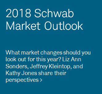 What market changes should you look out for this year? Liz Ann Sonders, Jeffrey Kleintop, and Kathy Jones share their perspectives on the 2018 markets.
