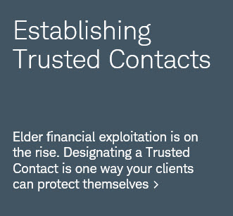Why—and how—to establish Trusted Contacts