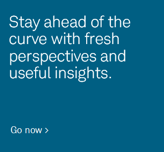 Stay ahead of the curve with fresh perspectives and useful insights.