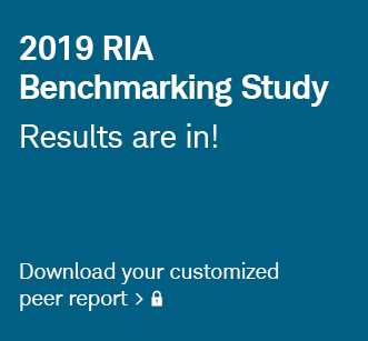 2019 RIA Benchmarking Study. Results are in! Log in to download your customized peer report.