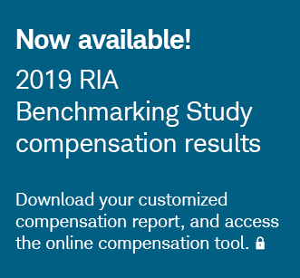Now available! 2019 RIA Benchmarking Study compensation results. Log in to download your compensation report, and access the online compensation tool.