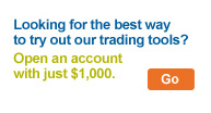 Looking for the best way to try out our trading tools? Open an account with just $1,000.