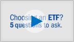Michael Iachini covers the basics of ETFs.