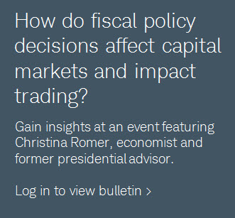 How do fiscal policy decisions affect capital markets and impact trading?