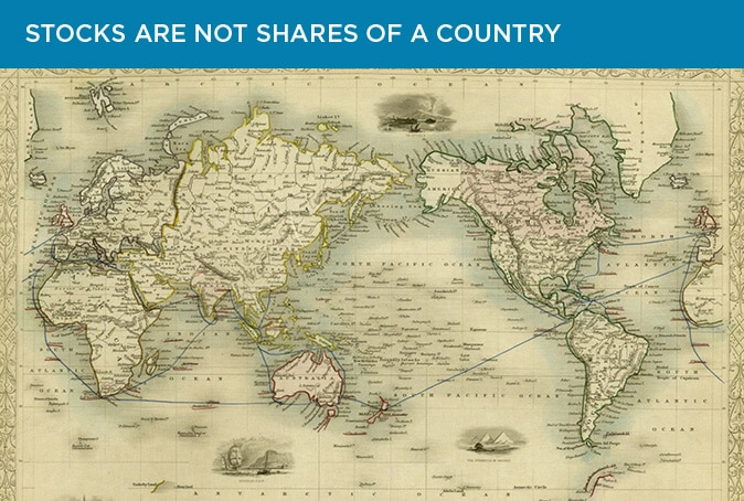 Slide 1: Stocks are not shares of a country