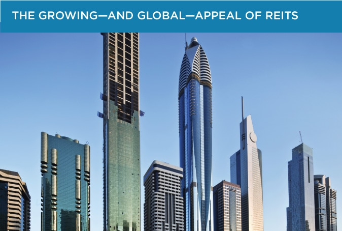 Investing in global REITs—real estate investment trusts—may benefit your portfolio.