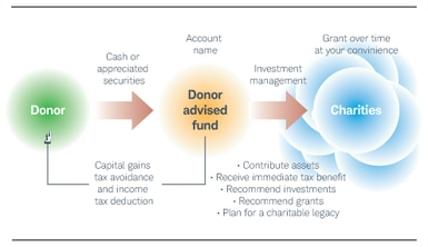 What is a donor advised fund