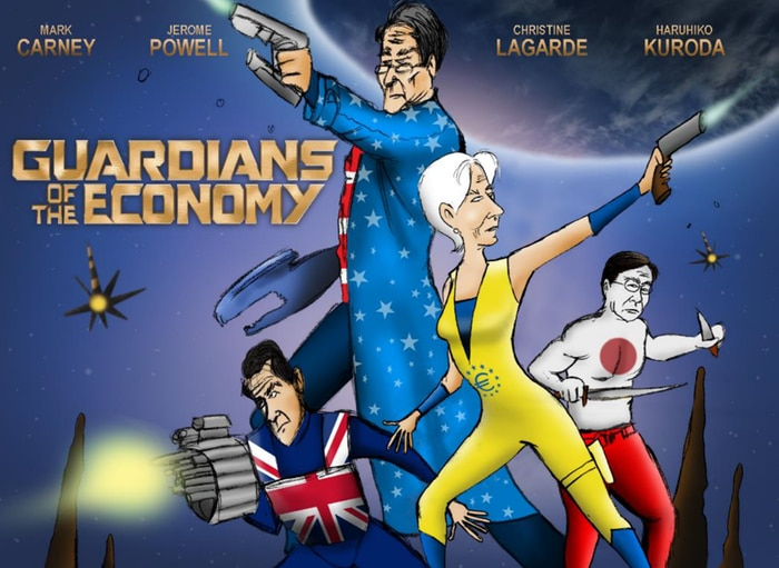 Guardians of the Economy cartoon