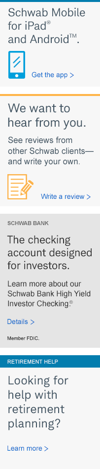 Schwab Mobile. Get the app.